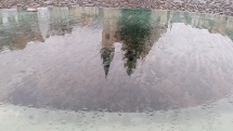 Bardejov v dážďi