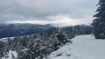 Po sneženi i daždi nad Šumiacom.