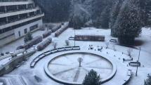 Ako sneží v Tatranskej Kotline