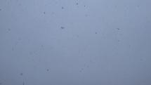 Sneženie v Senci