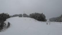 Lyžiar Snowboardista - samotár