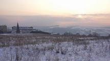 Ráno v Bardejove -16 °C