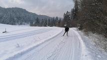 Zima v okolí Podolínca II