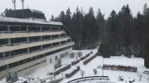 Sneh v Tatranskej Kotline