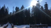 Dnešné slnečné počasie