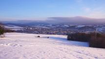 Ráno v Bardejove -14°C