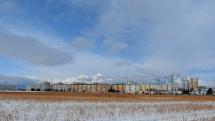 3.2.2021, dopoludnia, oblačnosť v okolí Popradu