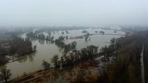 Devinske jazero - povoden
