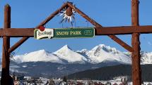 Snow park Lucivna