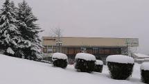 Bardejov pod snehom