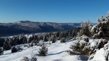 Muránska planina a dedinu Šumiac .