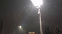 Bardejov, keď sneží