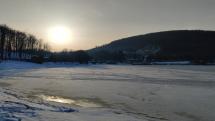 Zamrznuté Vinianske Jazero
