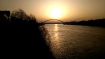 Východ slnka Bratislava