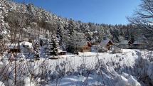 Zimna krása na vodnom diele Beňov