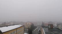Bardejov v hmle