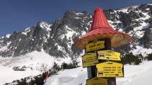 Slnečné počasie vo Vysokých Tatrach