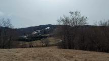 Pohľad na pohorie Tribeč