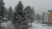 Sneženie na Orave