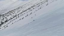 Skialpinisti pod Ďumbierom