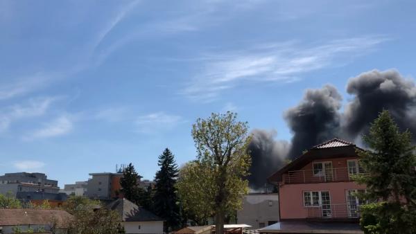 V PODUNAJSKÝCH BISKUPICIACH HORELO: Požiar zaznamenali iReportéri