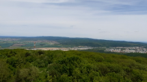 Pohľad z rozhľadne na Devínskej Kobyle
