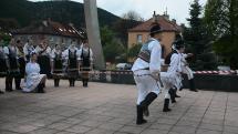 Vystúpenia folklórneho súboru Jánošík zo Svitu