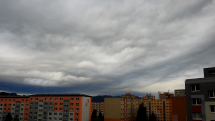 25.5.2021, ranná oblačnosť nad Popradom