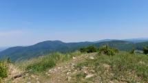 Pohľad zo Skalnatej v Malých Karpatoch