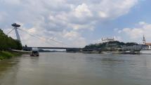 Bratislava dnes okolo obeda