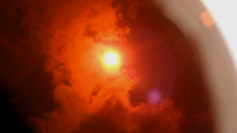 čiastočné zatmenie Slnka Mesiacom - 10.6.2021