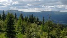 Nad dedinou Šumiac
