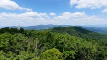 Pohľad z vrchu Marhát