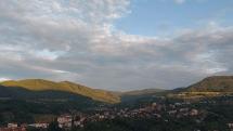 Pohronský Inovec ráno o 5 h.
