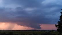 Búrka nad Malými Karpatmi