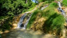 Vyšné Ružbachy - vodopád