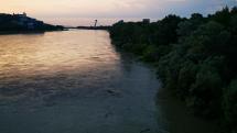 Vysoká hladina Dunaja v Bratislave