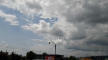 Oblačnosť nad Košicami