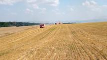 Požiar pšenice v Suchodolí