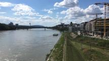 Pohľad z mosta Apolo