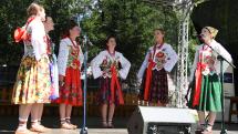 Podroháčske folklórne slávnosti - Dievčenská spevácka skupina Goral z Hladovky