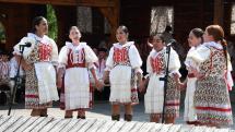 Horehronské dni spevu a tanca v Heľpe - folklórna skupina Brezinky z Polomky