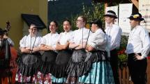Gemerský folklórny festival v Rejdovej - DFS Hanička, spevy