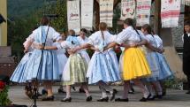 Gemerský folklórny festival v Rejdovej - DFS Hanička, tanec Karičky