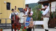 Gemerský folklórny festival v Rejdovej - Ľudová hudba Hájik