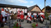 Gemerský folklórny festival v Rejdovej - folklórny súbor Heľpan