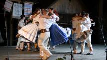 Gemerský folklórny festival v Rejdovej - folklórny súbor Vepor