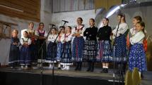 Turčianské slávnosti folklóru - detský folklórny súbor Malá Lubená