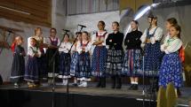 Turčianské slávnosti folklóru - detský folklórny súbor Malá Lubená + ľudová hudba