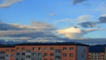 ranná oblačnosť nad Popradom - 18.9.2021